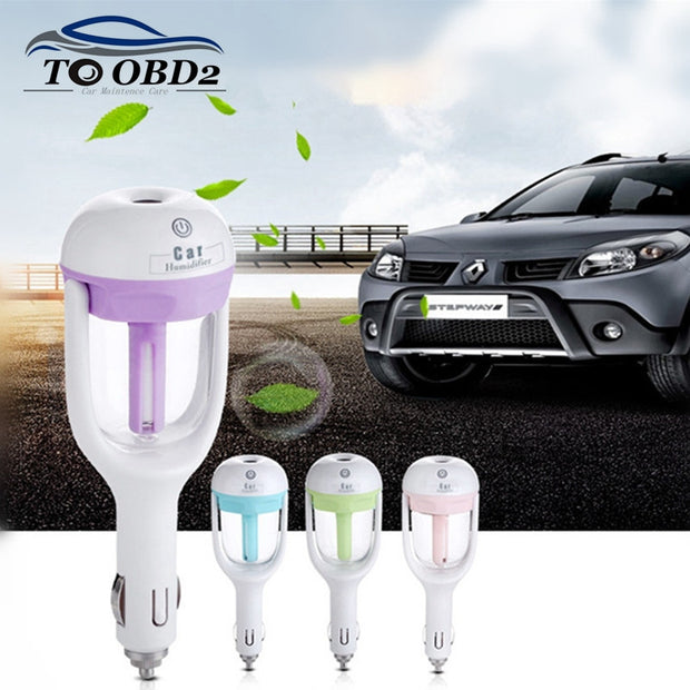 Best Quality Auto Aroma Diffuser Charger Car Humidifier Air Purifier