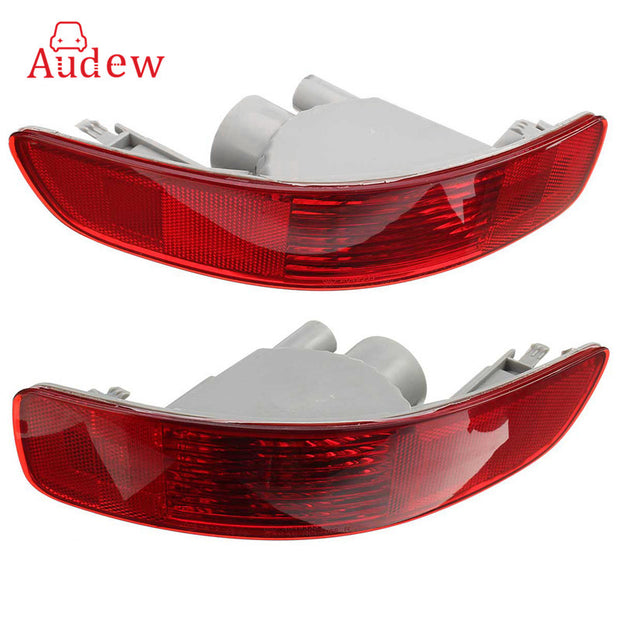 Red Halogen Rear Bumper Light Brake Fog Reflector Lamp for