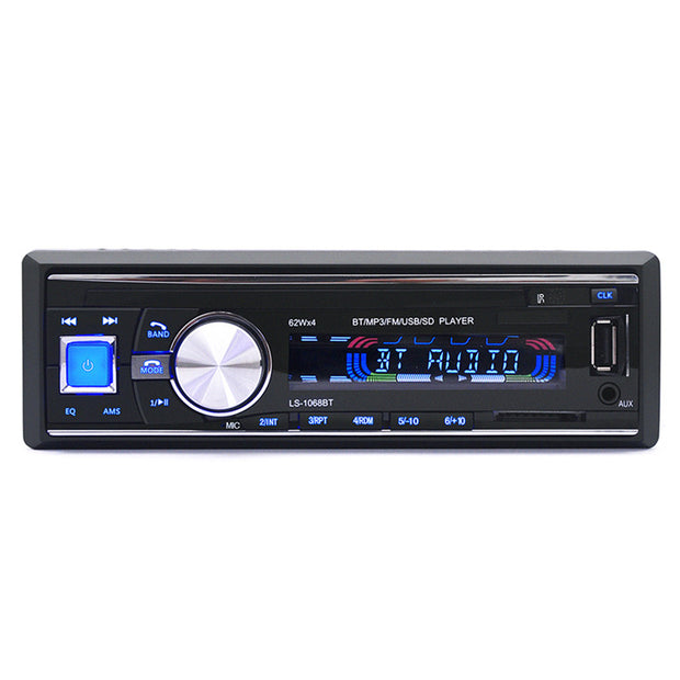 Hot Sale 12V Car Radio Bluetooth Stereo Audio MP3 Player Support Max