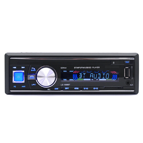 Hot Sale 12V Car Radio Bluetooth Stereo Audio MP3 Player Support Max 32G SD Card USB Flash Aux In Remote Control Car Electronics
