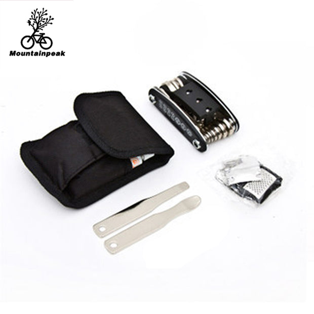 Mountainpeak Multifunctional Bicycle Riding Equipment Repair Kit