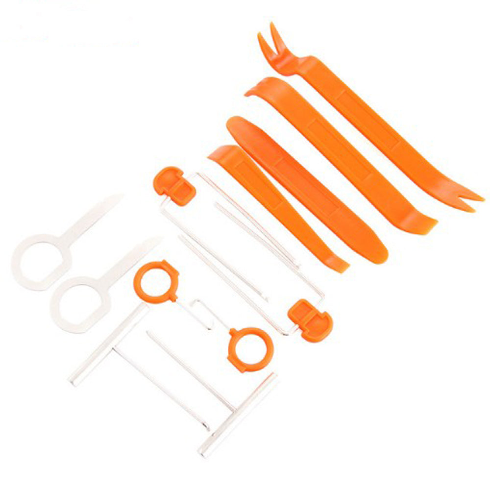 12pcs Car Door Clip Panel Radio Removal Tool For Dodge Charger Ram