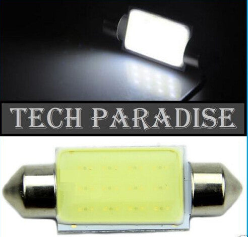 1pcs High Quality 31mm 36mm 39mm Festoon COB 12 Chips DC 12V LED Car