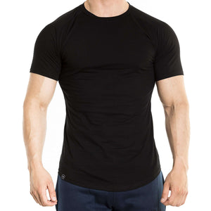 Fitted T-Shirt - Black - Kyon Apparel