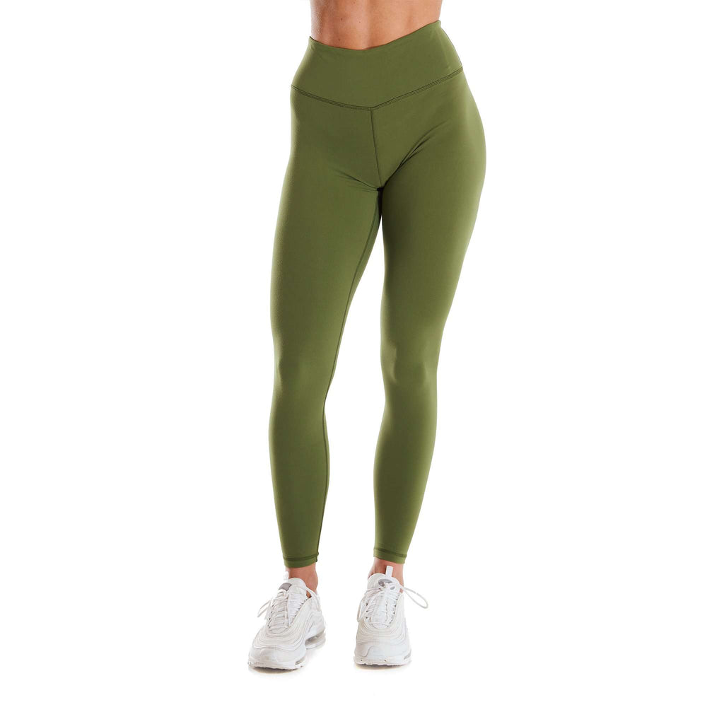 Lycra Leggings - Green
