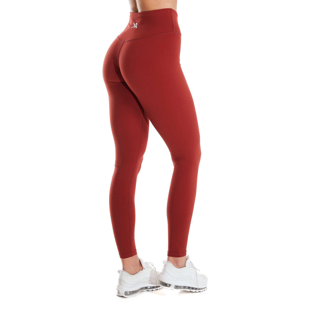 Lycra Leggings - Red