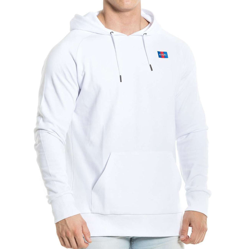 Fitted Hoodie - White - Kyon Apparel