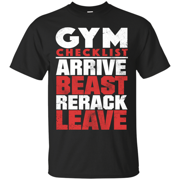 Gym checklist T-Shirt