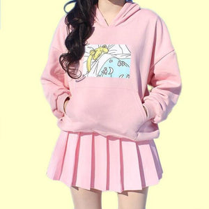 SLEEPY SAILOR MOON | KAWAII HOODIE