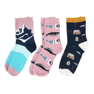 3 PAIR | KAWAII SOCKS