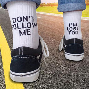 I'M LOST TOO | AESTHETIC SOCK