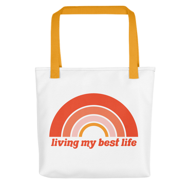 Living My Best Life Tote Bag