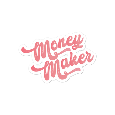 Money Maker Sticker