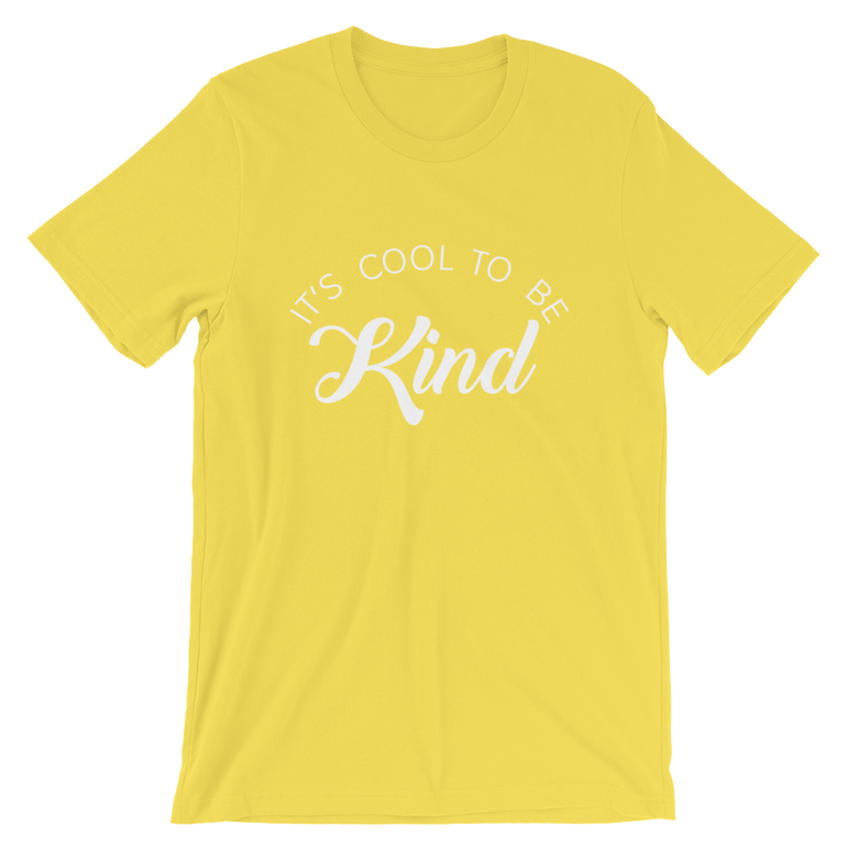 a0edda4d It's Cool to be Kind T-Shirt – Club Crafted