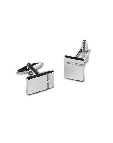 Men's Dress Shirt Cufflinks in Rectangular
