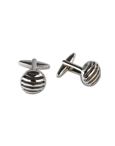Men's Dress Shirt Cufflinks in Round Stub