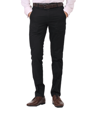 Men's custom dress pants - front