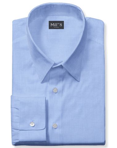The Roosevelt Dress Shirt in Blue Cold Water