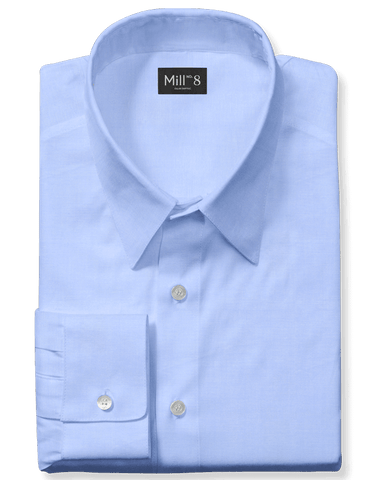 The Roosevelt Dress Shirt in Charlotte Blue