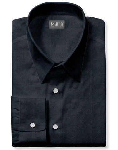 The Wabash Dress Shirt in Black