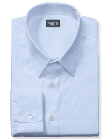 The Wabash Dress Shirt in Light Blue Oxford
