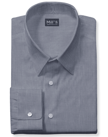 The Wabash Dress Shirt in Light Grey