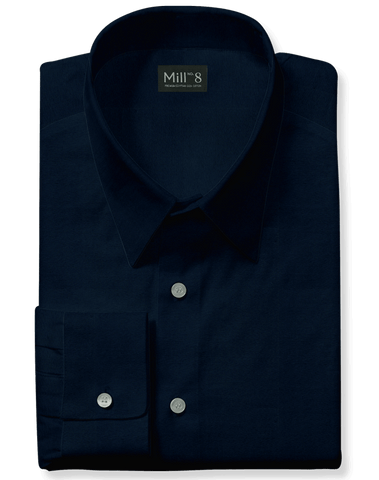 The Wabash Dress Shirt in Navy