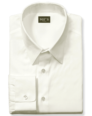 Dress Shirt in Citrine White
