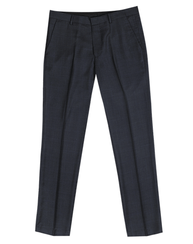 The Randolph Dress Pants in Navy Windowpane