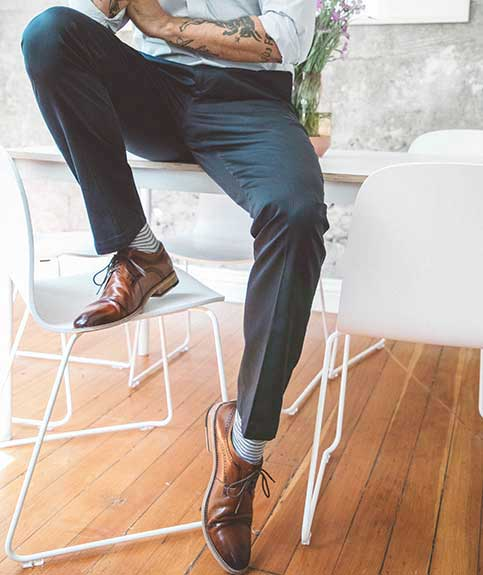 men's custom dress pants