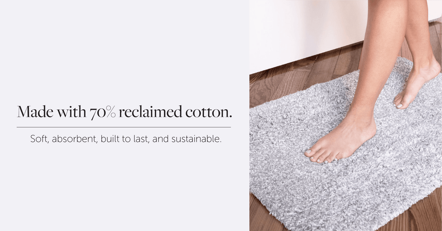 The softest and most sustainable Bath Mat, by Nebia