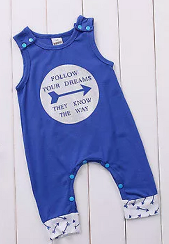 Follow your Dream they know the way Romper
