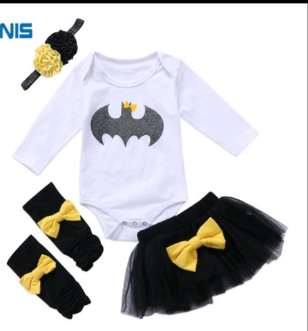Batman 4pc Tutu set