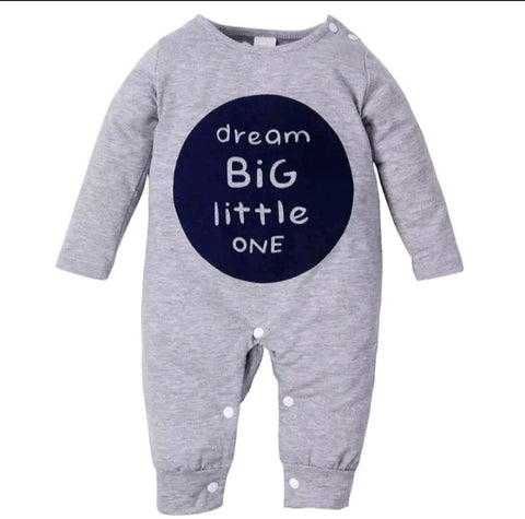 Dream Big Little One 1pc romper