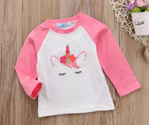 Unicorn long sleeve shirt