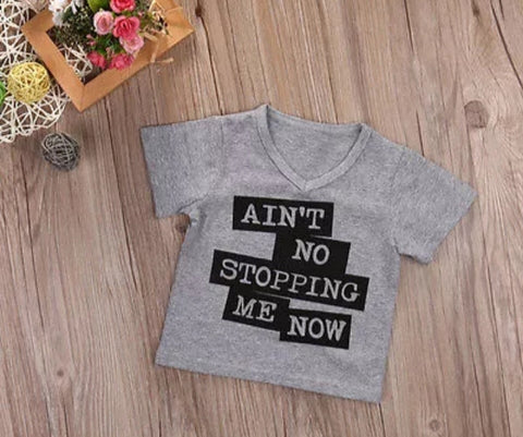 Ain't no stopping me now t-shirt