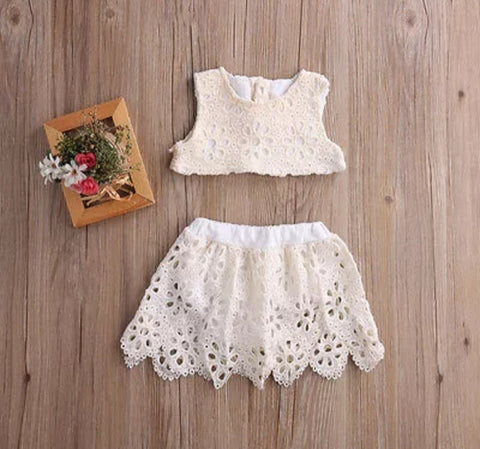Lace 2pc set.