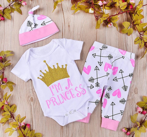 I'm a Princess 3pc set