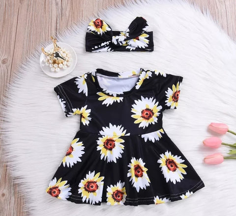 Daisy Dress with Matching Headband