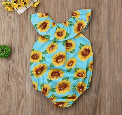 Sunflower Rompers