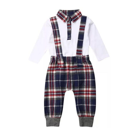 Plaid 2pc Set