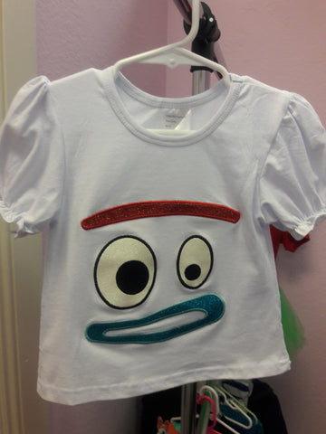Toy Story Forky Shirt or Tutu Set