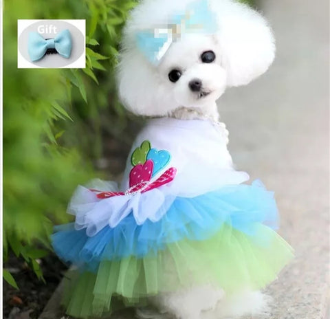 Princess Tutu Dress with Matching Bow