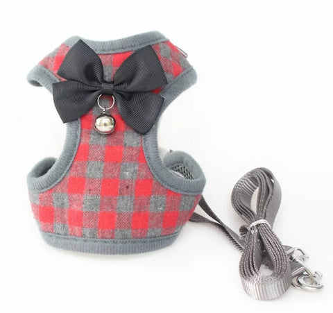 Cute Harness Vest with Leash