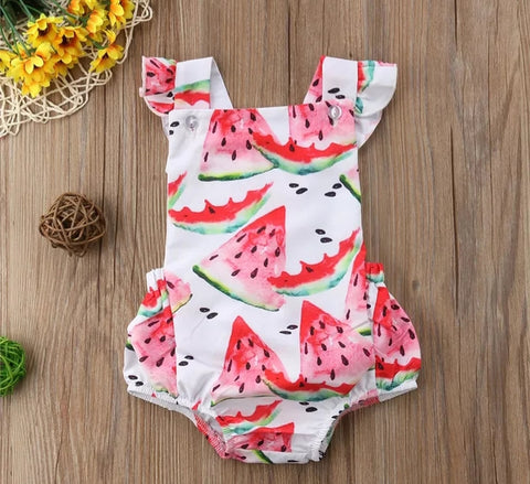 Watermelon Romper 2pc