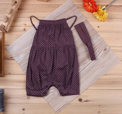Brown Romper 2pc