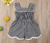 Plaid 1 pc Jumpsuit