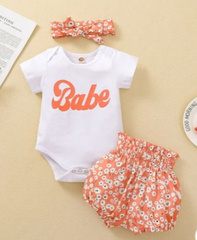 Babe 3pcs Set