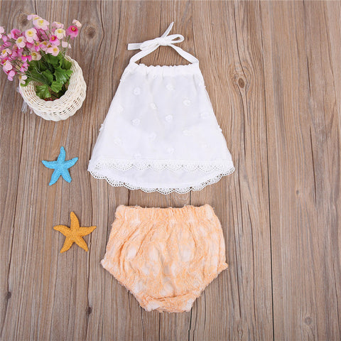Lace Romper set 2pc
