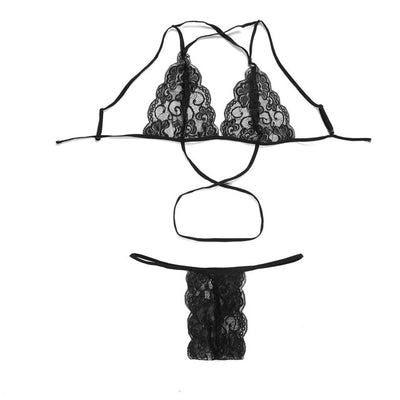 Lace Babydoll Nightwear Bra & Brief Sets